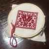 トンネル刺繍のピンクッション ~フェリシモ クチュリエ 東欧のかわいいを詰め込んで 旅する刺しゅうピンクッションの会