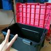 CBR(SC59)2009年式にホムセン箱をつけるんです 2