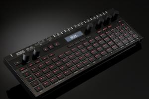ポリフォニック・ステップ・シーケンサーKORG SQ-64がリリース。CV/MIDI/USB対応の4tr/64ステップ機