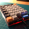 Helixキーボードを組み立てた
