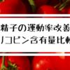 ≪トマトのリコピン含有量を徹底比較≫精液検査の結果が改善したので、カゴメのトマトジュースは精子の運動率を上げる研究結果を考察します。生・ジュース・スープ・トマトケチャップ