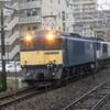 篠ノ井線 EF64重連臨貨8467レ・東線貨物5463レin北松本駅(2020年6月13日)