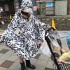 雨の日のベビーカースタイル