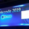 de:code 2019に行ってきました