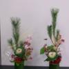 生物環境工学科「お正月飾りのアレンジメントをしました!」