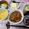 夕食:カレーと焼き飯と、ビール