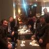帝国ホテルのラウンジで「元祖ザ・クラブ」の久しぶりのミニパーティ。