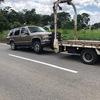 袖ヶ浦市から車検切れ不動車の外車をレッカー車で廃車の引き取りしました。