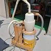 バッフル式サイクロン集塵機1