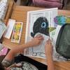 2年生:図工 大きなペンギン完成
