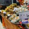ナシの季節になりました.近くの青果店の現在の主役は幸水.「梨シーズンのスタートを飾る」「ソフトな歯ざわりで水分が豊富」が特徴で,品種別栽培面積でトップの品種.2位以下は豊水,新高,二十世紀と続きます.それにしても日本のナシの品種の多いこと.日本原産ヤマナシの変種とされ,日本書紀,正倉院文書に梨の記載があります.