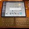 iPad版クリスタでキーボードのショートカットを使いたくてBluetoothのキーボードを買ってみたんだけど…