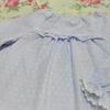 女の子のふんわりダブルガーゼのパジャマ。