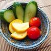 【夏野菜】黄色ズッキーニで浅漬けを作ったら見た目も鮮やかで美味しかった!【副菜レシピ】