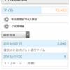 2019年2月のANAマイル獲得結果報告