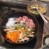 幸運な病のレシピ( 2048 )朝 :牛肉きんぴら、味噌汁、マユのご飯