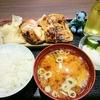 米花で焼鳥定食
