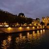 パリ観光④:国立近代美術館で見た前衛的な作品たちとセーヌ川の夜景