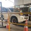 タイの田舎でイスズd-maxハイランダーの車検取ってみた…