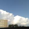 節分の空の雲