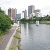 橋脚ができとった - 乙川人道橋