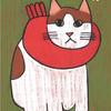 「ネコとマフラー」展の告知といいつつも