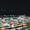 タイのラチャダー鉄道市場で南国の休日感を味わう平日の夜