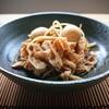 酢が優しくきいた豚バラとゴボウとうずらの卵のお酢煮レシピ