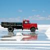 ボリビアの「ウユニ塩湖」でトリックアートな映像を撮ってみたい!