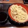 渋谷区渋谷の「丸亀製麺 渋谷メトロプラザ店」でざるうどん(大)