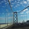 オークランドベイブリッジを通ってサンフランシスコ市内へ