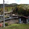 黒滝村の廃小学校や小集落