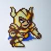 【アイロンビーズ】聖闘士星矢より、山羊座のシュラ