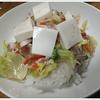 豆腐サラダご飯