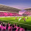 セレッソ大阪の新本拠地「桜スタジアム」は来年完成予定