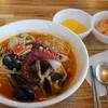 済州島(チェジュ島)グルメ #ウォルチョンリ「浦口食堂」でタコラーメン