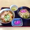 庄寿庵のひれかつぼっちり丼