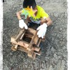 超田舎で子供だけで手作りキャンプファイヤー体験!!