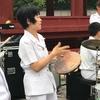 鶴岡八幡宮での横音演奏会