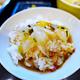 宇和島駅に近い定食屋「とみや」(富屋)で、本場の「宇和島 鯛めし」が美味かった