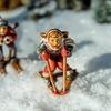 雪国の小学校行事 スキー遠足