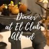スペインの首都マドリードでミシュランディナー 〜 El Club Allard 〜