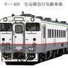 JR北海道の【北の復刻40リクエスト】キハ40形で名車の塗色を再現について。久々に興味深い企画だ(^_-)-☆