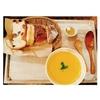 ル ミトロン カフェ @片倉町 人参と燻製ベーコンのスープ&パン食べ放題
