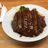 松江市民のソウルフードふの食堂のカツライス