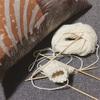 気まぐれに輪編み