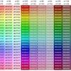 Python 色見本作成(HSV => 16進変換)