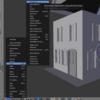 【ゲーム制作】Blenderを使ってラビットハウスっぽいやつをモデリングする④