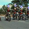 ショッカー女戦闘員の搭乗バイク