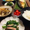 サバの文化干しと和惣菜で晩酌。